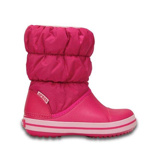 Puff Schuhe 14613 Pink Kinder Candy Crocs Winter 5Rj34AL
