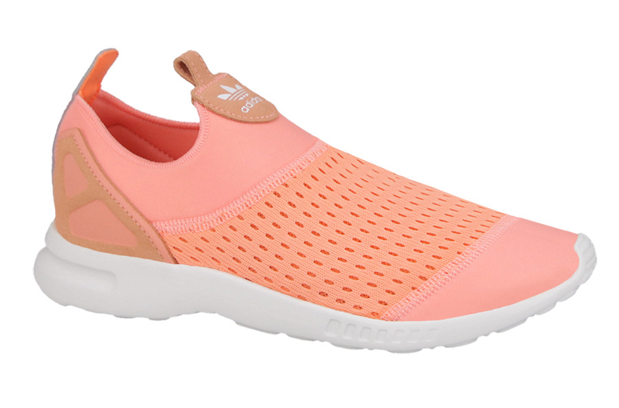 Adidas Zx Flux Adv Smooth Slip On Schuhe Pink Damen