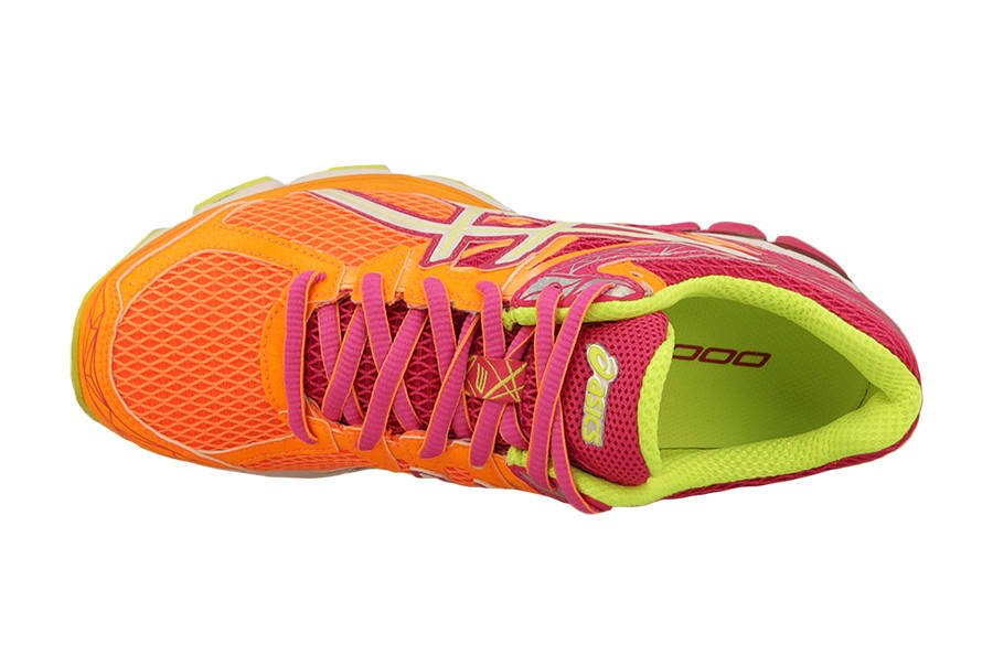 ASICS GT 1000 3, Damen Laufschuhe Training, Orange (Soft
