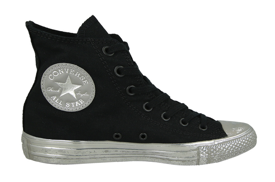 Damen Converse Chuck Taylor All Star Metallic Contrast Weiß