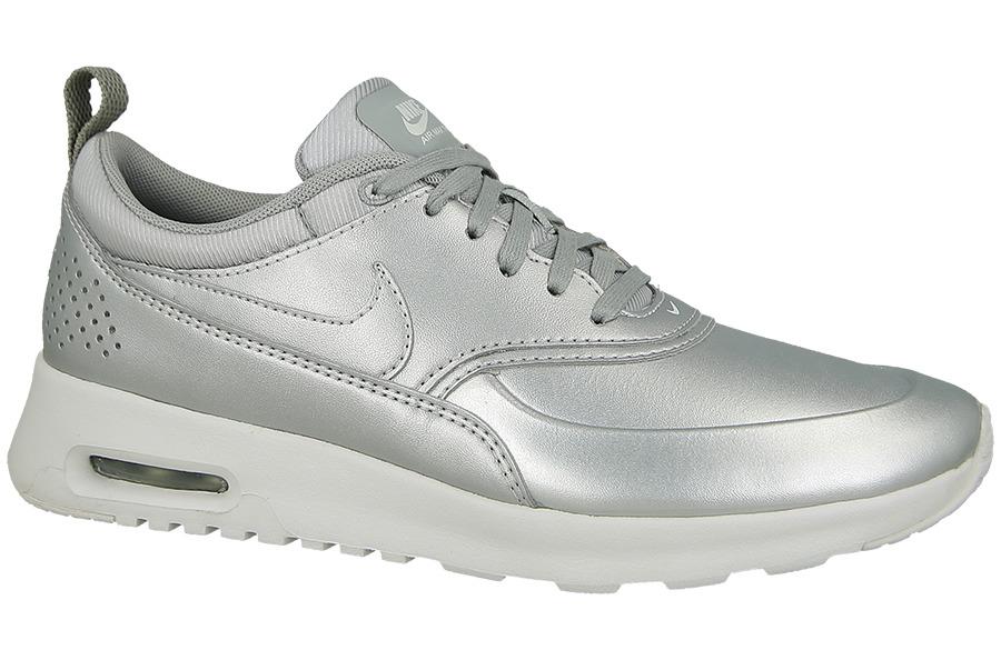 Damen Freizeit Schuhe Nike Air Max Thea SE Silber Metallic