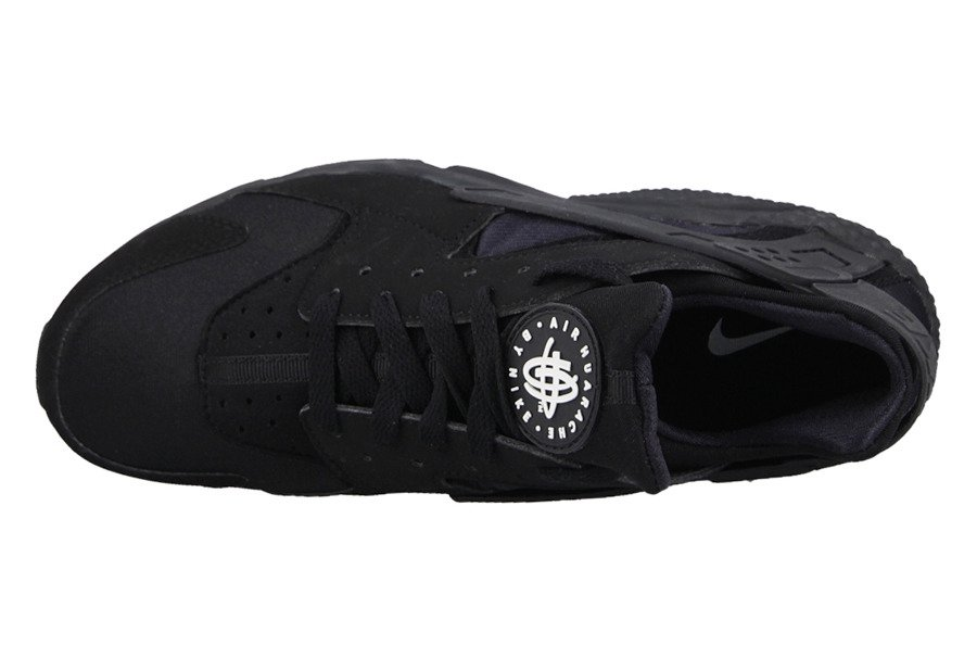 HERREN SCHUHE NIKE AIR HUARACHE TRIPLE BLACK 318429 003