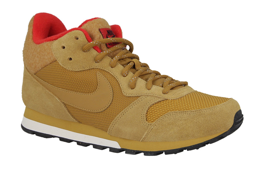 Nike Md Runner 2 Mid Premium Sneaker Herren Schwarz