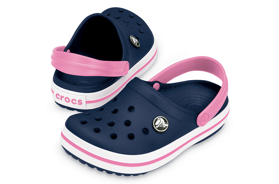 super popular bb1b8 378b9 KINDER SCHUHE CROCS CROCBAND KIDS 10998 NAVY/PINK - YesSport.de