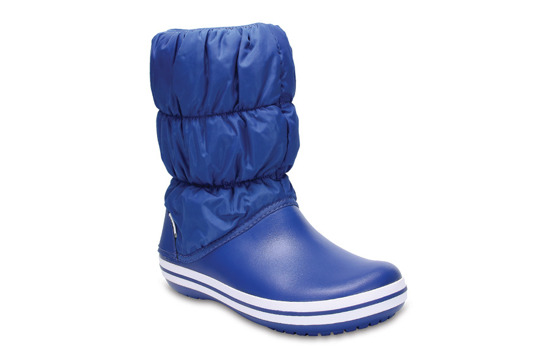 CROCS WINTER PUFF BOOT 14614 BLUE JEAN