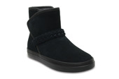 CROCS LODGE POINT SUEDE 204798 BLACK